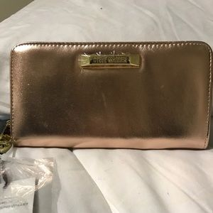 Authentic Steve Madden BKATE rose gold wallet